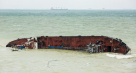 Ship Wreck - Do You Know Where Your Risk of Loss Begins