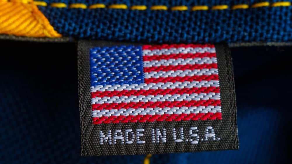 Made in USA tag - FTC Made in America Rule - Are You Sure?
