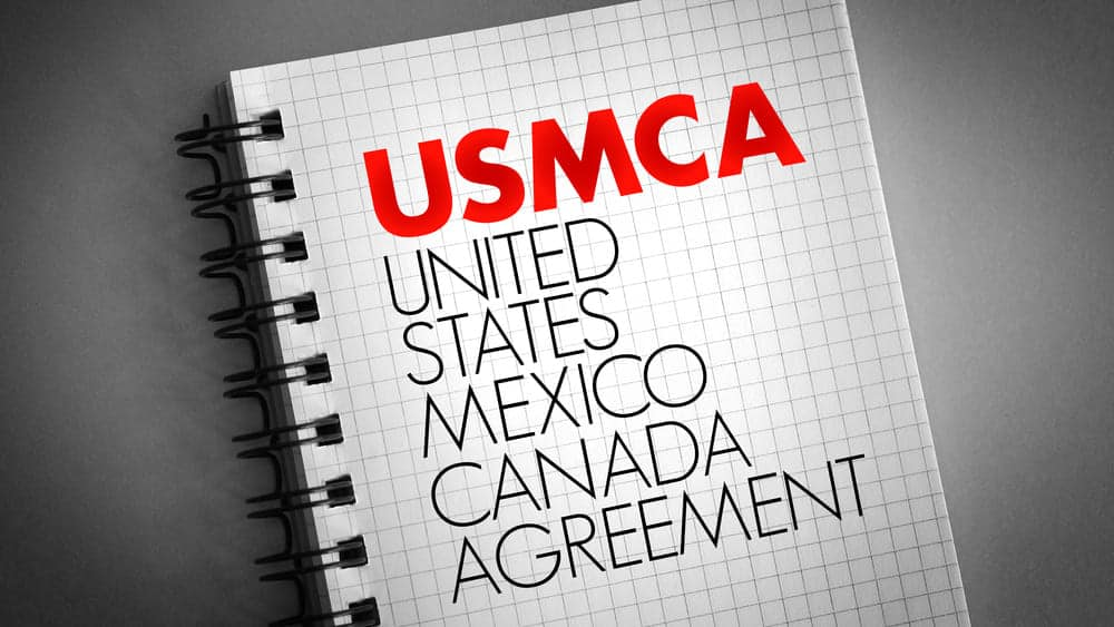 USMCA United States Mexico Canada Agreement - CBP Proposes Streamlining Origin Rules for Imports from Canada and Mexico